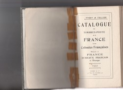 Catalogue Yvert 1932. - France