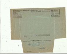 Telegramme De Meilleurs Voeux De Bonheur A L'Occasion Du Mariage De Melle LAPORTE  NICOLE En 1961 Voir Scan Details - Boda