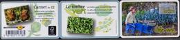 FRANCE CARNET 2012 - BC739 - Le Timbre Vert - 12 TIMBRES AUTOADHESIFS NEUFS**- Au Tarif Lettre Verte - Adhesive Stamps