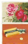 Rose Antigrippine 1966  Calendrier / Rozen   Antigrippine 1966 Kalender - Calendriers