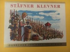 4624 - Stäfner Klevner  Suisse - Etiquettes