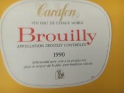 4626 - Carafon 1990 Brouilly - Beaujolais