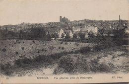 CPA 18 BOURGES  Vue Générale Prise De Beauregard - Bourges