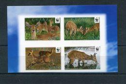 "WWF - Ghana - MiNr. 4127 / 4130 - ""Riedbock"" Geschnitten / Imperforated ** / MNH (Jahr 2012) - W.W.F."