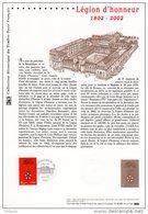 """"""" NAPOLEON / LA LEGION D'HONNEUR """" Document Philatélique Officiel De 2002 (Prix à La Poste = 5.00 €) N°YT 349 - Napoleon"""
