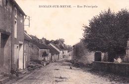 ROMAIN SUR MEUSE - Rue Principale - France
