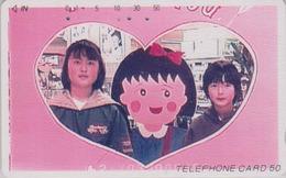 Télécarte Japon / TCP 110-001 - MANGA - CHIBI MARUKO CHAN - ANIME Japan Phonecard Telefonkarte - 8667 - BD