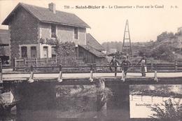 SAINT DIZIER - Le Closmortier - Pont Sur Le Canal - Saint Dizier