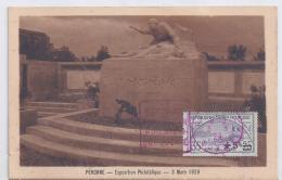 Carte Exposition Philatelique Peronne 1929 Daguin Avec Orphelins - France