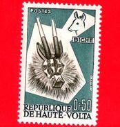 Nuovo - ALTO VOLTA - 1960 - Arte Tribale Dell'etnia Bobo - Maschere - Duiker - 0.50 - Alto Volta (1958-1984)