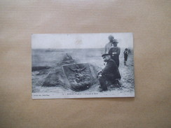 BERCK-PLAGE .- TRAVAUX DE SABLE 1915 - Berck