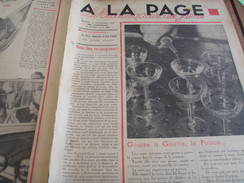 ALA PAGE /GRECE ROI / PIERRE LAVAL /COLONIES GRAND PALAIS /TELEVISION /ALAIN LEGEAIS - Books, Magazines, Comics