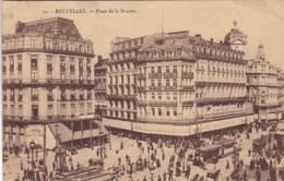 Brussel, Bruxelles, Place De La Bourse, Tram, Tramways (pk37648) - Places, Squares