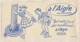 730  BUVARD CAOUTCHOUCS A L'AIGLE HUTCHINSON TACHE - Shoes