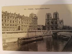 CPA PARIS EGLISE NOTRE DAME PENICHE 28 - Eglises