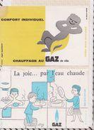 735  BUVARD Gaz Chauffage Eau Chaude LOT DE 2 - Electricité & Gaz