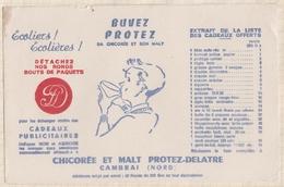 736  BUVARD PROTEZ CHICOREE ET SON MALT - Café & Thé
