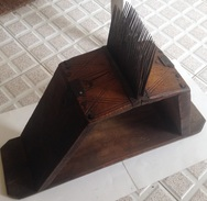 Ripio Peine De Cardar. Cardadora Para Lino O Lana. Rusia. Siglo XIX - Instrumentos
