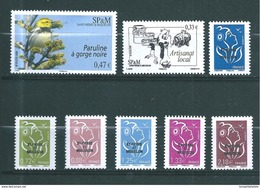 St Pierre Et Miquelon Timbres De 2008  N°916 A 923  Neuf ** Parfait - Nuevos