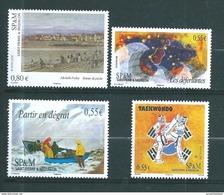 St Pierre Et Miquelon Timbres De 2008  N°924 A 927  Neuf ** Parfait - Nuevos