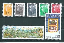 St Pierre Et Miquelon Timbres De 2008  N°932 A 938  Neuf ** Parfait - Neufs