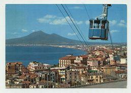 Castellammare Di Stabia (Napoli) - Panorama Con Funivia - Viaggiata 1968 - Castellammare Di Stabia