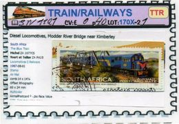 THEMATICS:TOPICS# SOUTH AFRICA#MODERN TRAINS#DIESEL LOCOMOTIVE#:SW1121 (TTR-170X-2) (01) - Trenes