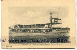 -  9 - DAHOMEY - Bénin - Le Faadji - Annexe Des Chargeurs, Servive Des Lagunes, écrite, 1920, BE, Scans.. - Dahomey