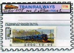 THEMATICS:TOPICS# SOUTH AFRICA#MODERN TRAINS#DIESEL LOCOMOTIVE#:SW1118 (TTR-170X-2) (02) - Trenes