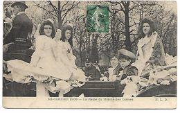 BOURGES - Mi-Carème 1906 - La Reine Du Marché Des Carmes - Bourges