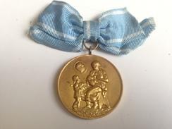 Medalla De La Madre Búlgara. Bulgaria Comunista. Años ´70. Ejército Búlgaro - Medallas Y Condecoraciones