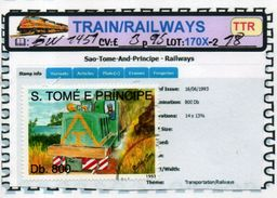 THEMATICS:TOPICS#ST.THOMAS#TRAINS#DIESEL LOCOMOTIVE#:SW1451 (TTR-170X-2) (18) - Trains