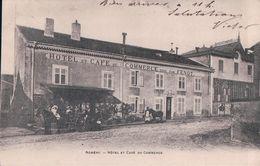 NOMENY Hôtel Et Café Du Commerce (1905) - Nomeny
