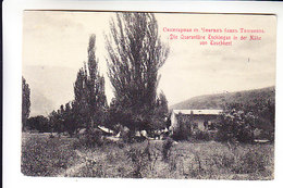 Middle Central Asia Russian Empire  CHIMGAN SANITARY STATION NEAR TASHKENT. MAIL OF MILITARY PRISONERS - Uzbekistan