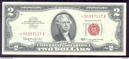 United States $2 1963* Fr. 1513* STAR Note UNC - United States Notes (1928-1953)