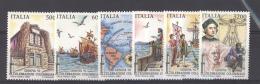Italie  :  Yv  1976-81  **    Bateau - Boat     Christophe Colomb - 1946-.. République