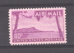 USA  -  Avion  :  Yv 45  **      Bateau - Boat - Air Mail