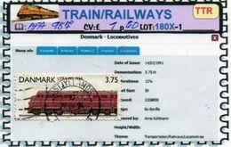 THEMATICS:TOPICS#DENMARK#TRAINS# DIESEL LOCOMOTIVE#:AFA987 (TTR-180X-1) (06) - Trenes