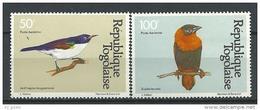 "Togo Aerien YT 443 & 444 (PA 443 & 444) "" Oiseaux "" 1981 Neuf ** - Togo (1960-...)"