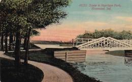 Indiana Hammond Scene In Harrison Park - Hammond