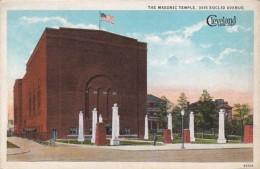 Ohio Cleveland The Masonic Temple Curteich - Cleveland