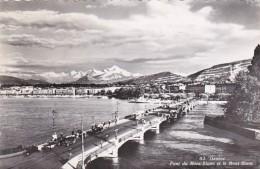 Switzerland Geneve Pont du Mont Blanc  Photo