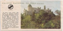 Ticket Portugal - Palacio Nacional Da Pena - Sintra - Tickets D'entrée