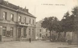""".CPA  FRANCE 69 """" Cours, Mairie Et Poste"""" - Cours-la-Ville"""