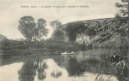 """CPA FRANCE 30 """"Aubais, La Roche Ou Tranchée à Vidourie"""". - France"""