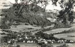 """.CPSM  FRANCE 74 """"  Villard Su Boëge, Vue Générale"""" - Autres Communes"""