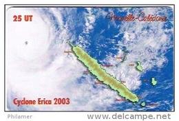 Phonecard Telecarte Nouvelle Caledonie Noumea  NC113 Cyclone Erica Tempete Carte Cote 20 Ut TB - New Caledonia