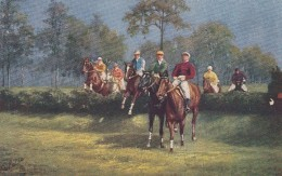 Steeplechase Horse Race Course, On C1900s Vintage Tuck Series #9118 Postcard - Cartes Postales