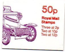 Gb-b005  Grande Bretagne Booklet  Fb12-b  New Machin Nh - Booklets