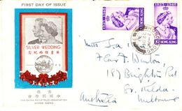 Hong Kong Envelope  FDC 22 Dec 1948 - 1997-... Regione Amministrativa Speciale Della Cina